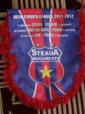MCFA - FANION - STEAUA BUCURESTI - UEFA 2011-2012 - GRUPA J - SUPER TARE!!!!