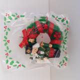 Ornament  / glob de Craciun in forma de coronita, spargatorul de nuci, handmade