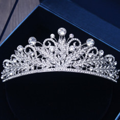 Diadema / tiara mireasa Night Spell foto