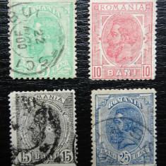 Romania LP 52 , Carol I Spic de Grau -  UPU , Stampilate , cal a II a