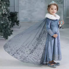 Rochie rochita printesa Elsa NOUA (cu eticheta) 5,6 ani