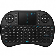MINI TASTATURA RII WIRELESS TOUCHPAD PENTRU XBOX, PS, PC, NOTEBOOK, SMART TV, Fara fir, Nu