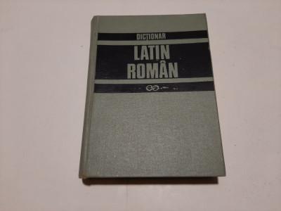 GH. GUTU - DICTIONAR LATIN-ROMAN - EDITIA a II-a  REVAZUTA SI COMPLETATA , 1997 foto