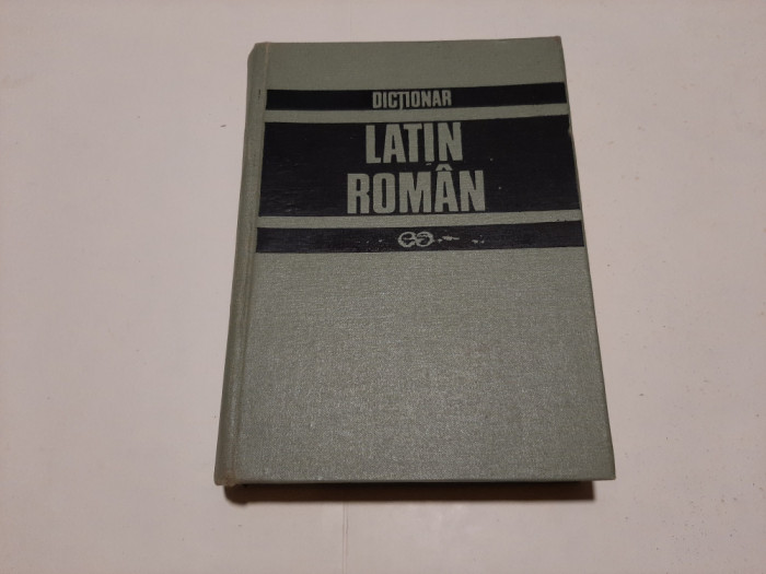 GH. GUTU - DICTIONAR LATIN-ROMAN - EDITIA a II-a  REVAZUTA SI COMPLETATA , 1997