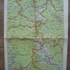 M. D. MOLDOVEANU- HARTA ROMANIEI - No.16 - VATRA DORNEI, TOPLITA... - anii '30