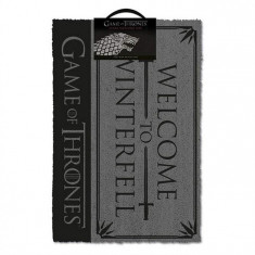 Covor Game Of Thrones Welcome To Winterfell Doormat