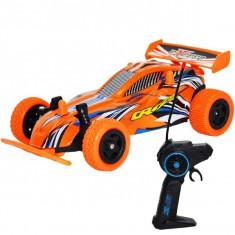 Masina de curse cu telecomanda RC,1:20 2,4GHz , acumulator reincarcabil, 19x11x6,5 Potocaliu