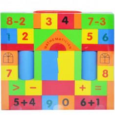 Cuburi constructii EVA 39 piese