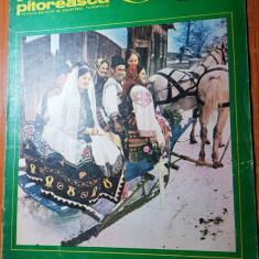 Romania pitoreasca ianuarie 1979-art. si foto bargau langa bistrita,jud.harghita
