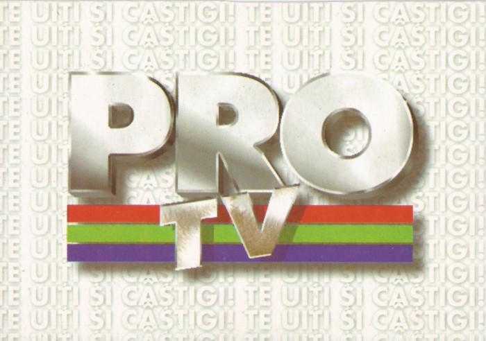 România, PRO TV, carte poştală necirculată