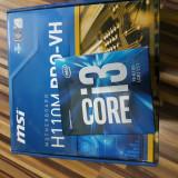 Unitate Centrala Cu i3 6100 socket 1151, 1Tb hdd ,4 gb ram, Intel Core i3, Msi