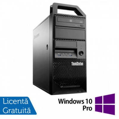 Workstation Lenovo ThinkStation E31 Tower, Intel Core i5-3330 3.00GHz-3.20GHz, 8GB DDR3, 500GB HDD, Intel HD Graphics 2500 + Windows 10 Pro foto