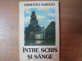 INTRE SCRIS SI SANGE de ERNESTO SABATO , 1995