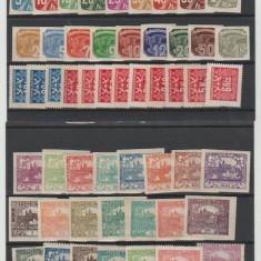 Cehoslovacia - Lot timbre vechi nestampilate