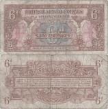 1946, 6 pence (P-M10a) - Regatul Unit