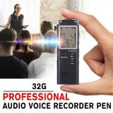 Reportofon Dictafon Digital Functie MP3 32 GB - Aparat Inregistrare - 218