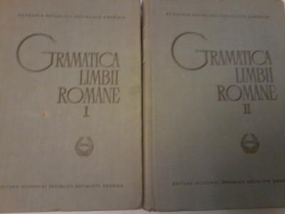 Al.Graur, Mioara Avram-Gramatica Limbii Romane I, II (ed. a II a revaz, adaugit) foto