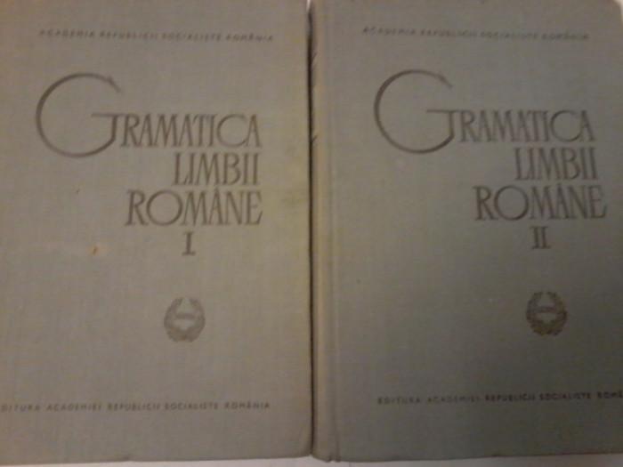 Al.Graur, Mioara Avram-Gramatica Limbii Romane I, II (ed. a II a revaz, adaugit)