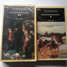 FRATII KARAMAZOV - F. M. DOSTOIEVSKI - 2 volume