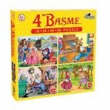 Puzzle 4 basme 12 ,24, 42, 56 EVO, Noriel