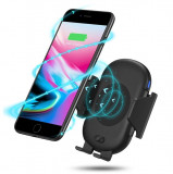 Incarcator auto telefon cu senzor inteligent prin wireless