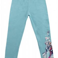Pantaloni Frozen Disney, Albastru deschis, pentru fetite