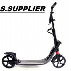 Trotineta adult și copii scuter Urban 9XL, pana ka 100 kg , pliabilă