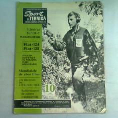REVISTA SPORT SI TEHNICA NR.10/1967
