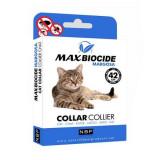 Cumpara ieftin Zgarda antiparazitara pentru pisici Margosa, Max Biocide, 42 cm