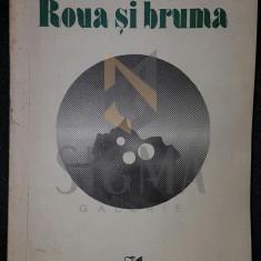 ROMULUS RUSAN (DEDICATIE-AUTOGRAF CATRE CORNELIU BABA) - ROUA SI BRUMA