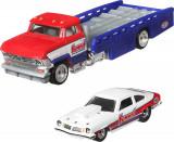 Cumpara ieftin Hot Wheels Transportator Horizon Hauler Cu Masinuta Chevrolet Vegas Stock..., Mattel