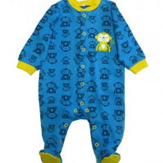 Salopeta / Pijama bebe cu maimute Z66