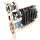 Placa video PC second hand HD5450 512MB 64bit DDR3 PCI-E HDMI DVI VGA Silent