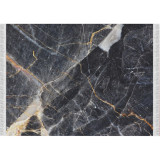 Covor, model marmura neagra, 80x200, RENOX TYP 1