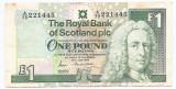 Scotia 1 Pound Sterling 26.07.1989 -  221445, P-351a