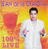 CD Jean de la Craiova – 100% Live, original, holograma