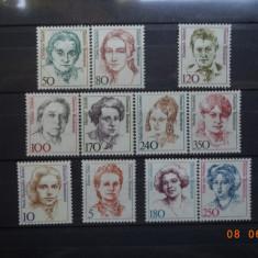 Germania - Uzuale**  Lot serii complete ( Cota Mi = 25,90 Euro ).