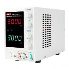Cumpara ieftin Sursa laborator UTP3313TFL-II Uni-T, 90 W, display dublu LCD, rezolutie 1 mA
