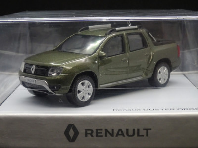 Macheta Renault Duster Oroch Pick-Up Norev 1:43 foto