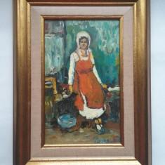 Tarancuta - pictura in ulei
