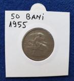 Moneda Republica Populara Romana 50 Bani 1955 -  stare foarte buna
