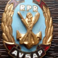 INSIGNA ROMANIA DIN PERIOADA R.P.R - AVSAP