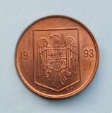 ROMANIA - 1 Leu 1993, Cupru (arama)