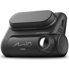 Camera Video Auto Mio MiVue 821, Full HD, Ecran LCD 2.7inch, Senzor G cu 3 axe, GPS (Negru)
