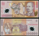 100000 LEI 2001 POLIMER ( 2003 ) UNC NECIRCULATA