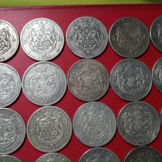 40 monede din Argint,a 5 Lei 1880,1881 și 1883 CAROL I,se vand doar Toate!