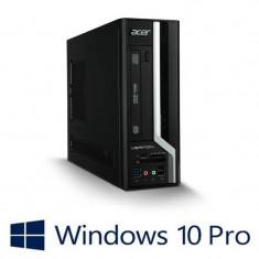Calculatoare Refurbished Acer Veriton X4640G, i3-6100, Win 10 Pro