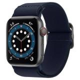APPLE WATCH44MM Curea Spigen Fit Lite pentru Apple Watch 4/5/6/SE (44 mm), Navy