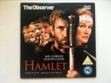 *DD- DVD film HAMLET, cu Mel Gibson, Glenn Close, regia de Franco Zeffirelli, Engleza
