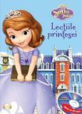Disney. Sofia Întâi. Lecțiile prințesei (Carte+CD) Ediția prescurtată